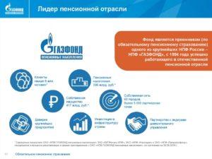 Перевод накопительной части пенсии в газфонд