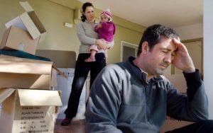 Дети прописаны у мужа мы в разводе муж выгоняет меня из квартиры