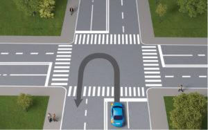 Что будет за разворот на пешеходном переходе