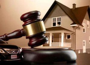Продажа имущества судебными приставами с торгов