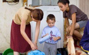 Как государство помогает малоимущим семьям