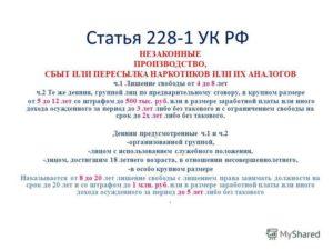 Ст 228 ч 2 ук рф с изменениями на 2019