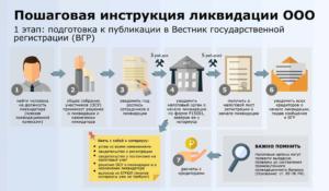 Порядок ликвидации общественной организации пошаговая инструкция