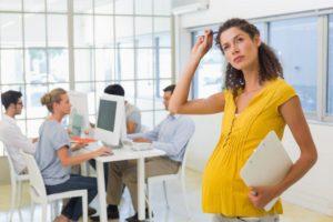 Возможно ли устроиться беременной на работу