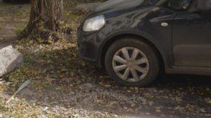 Где проверить штраф за парковку на газоне
