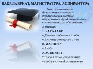 В чем разница бакалавра и магистра