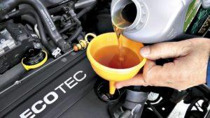 Сколько времени занимает замена масла в двигателе