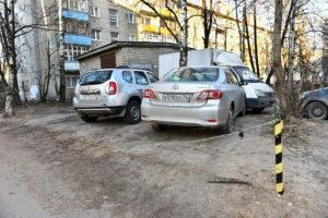 Штраф за парковку в не положенном месте