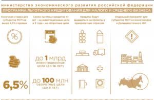 Поддержка малого бизнеса 2019 гос программы липецк