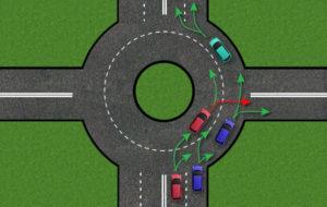 Съезд с кольца в какую полосу