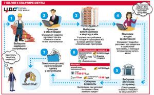 Этапы покупки квартиры в ипотеку в новостройке