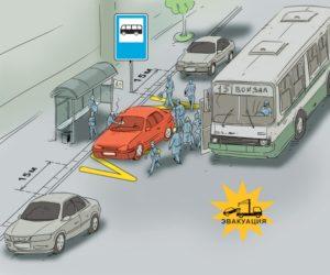 Пдд стоянка у остановки общественного транспорта