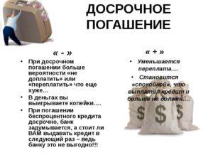 Аннуитетные платежи досрочное погашение имеет ли смысл