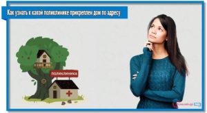 Как Узнать К Какой Поликлинике Прикреплен Дом