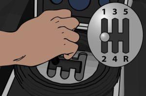 Как правильно понижать передачи на механике