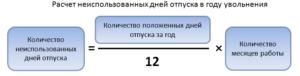 Как рассчитать сколько положено дней отпуска калькулятор