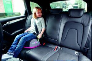 Можно ли бустер на переднем сиденье