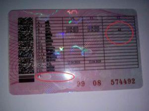 Водительское удостоверение нового образца 2019 расшифровка