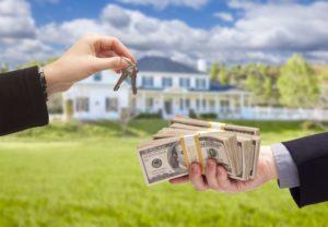 Передача денег при продаже земельного участка