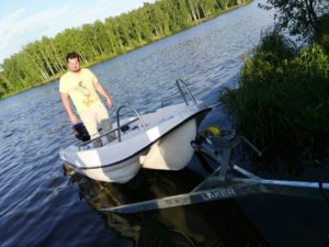 Постановка лодки с мотором на учет