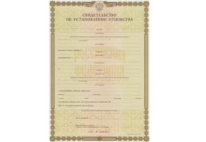 Нужно ли менять фамилию ребенка после установления отцовства