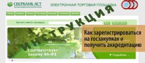 На зарегистрироваться на электронной площадке госзакупок