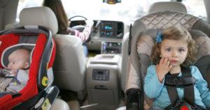 Детей до скольки лет перевозить в кресле