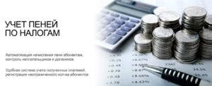 Учет штрафов и пеней по налогам