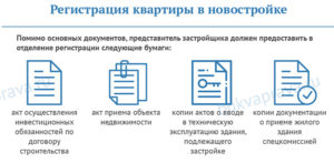 Какие документы нужны для прописки в новостройке