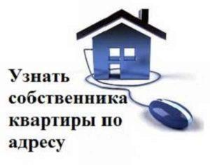 Как установить собственника квартиры по адресу