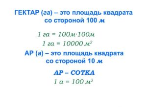 1 га это сколько на сколько метров