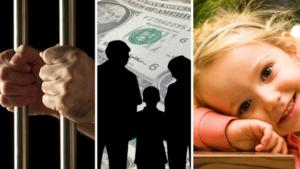 Взыскание алиментов с родителей находящихся в местах лишения свободы