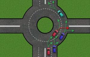 Как правильно ездить по кольцу схема