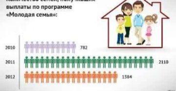 Сколько семей в калининграде получили субсидии по программе молодая