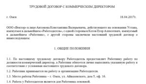 Договор с ип с директором образец