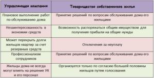 Тсж или ук плюсы и минусы
