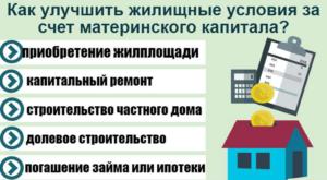 Как оформить дом за материнский капитал этапы
