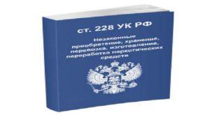 Статья 228 ч 2 ук рф новые поправки 2019 года