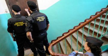 Через скольуо после суда приходят приставы и арестовывают имущество